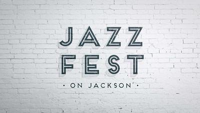 JazzFest on Jackson logo design