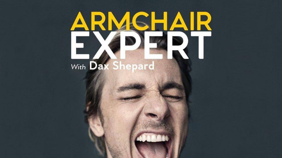 Armchair Expert Dax Shepard Podcast Album Cover
